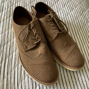 Brown Toms Dress Shoes
